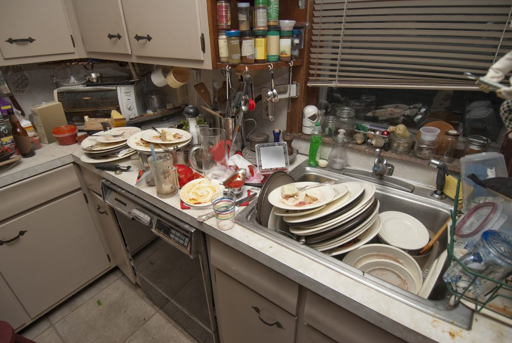 Unsanitary kitchen